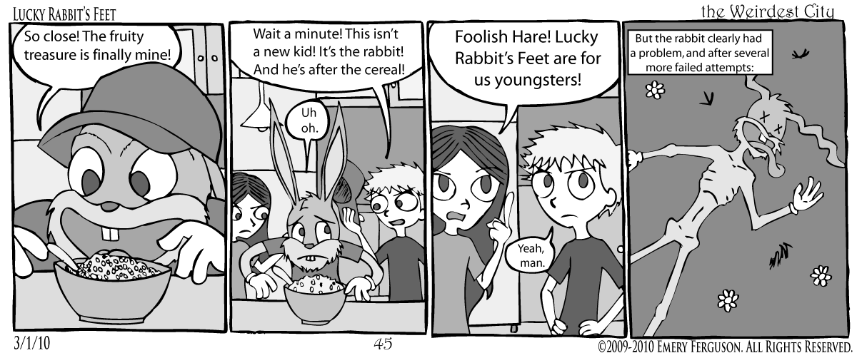 Lucky Rabbit's Feet