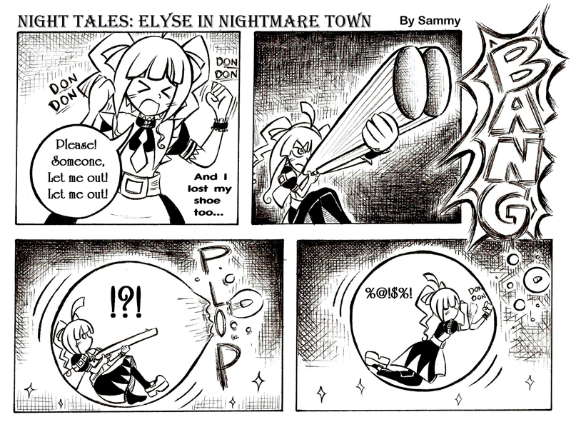 Night Tales: Elyse In Nightmare Town #4