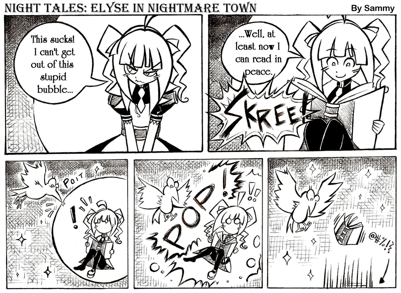 Night Tales: Elyse In Nightmare Town #5
