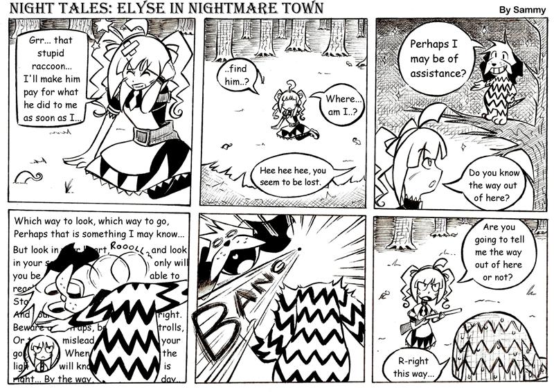 Night Tales: Elyse in Nightmare Town #6