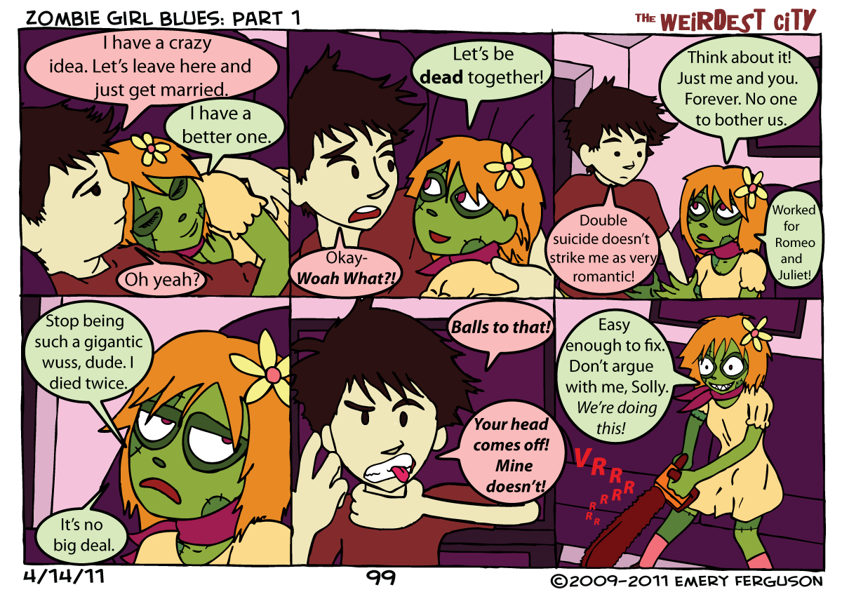 Zombie Girl Blues: Part 1